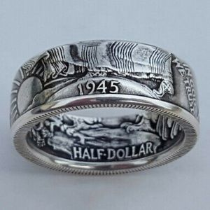 NEW Silver Plated Men's Ring
